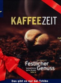 Tchibo Kaffeezeit Dezember 2012 KW50