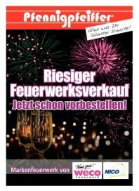 Pfennigpfeiffer Riesiger Feuerwerksverkauf Dezember 2012 KW51