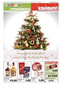 Feneberg Gesegnetes Weihnachtsfest Dezember 2012 KW51