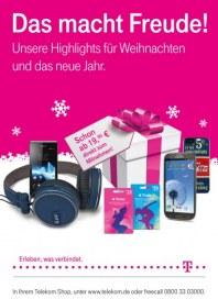 Telekom Shop Das macht Freude Dezember 2012 KW51