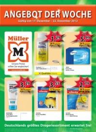 Müller Angebot der Woche Dezember 2012 KW51