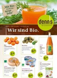 Denn's Biomarkt Aktuelle Angebote Januar 2013 KW01