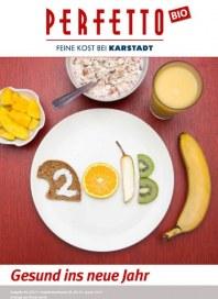 Perfetto Karstadt Gesund ins neue Jahr Januar 2013 KW02