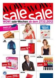 KARSTADT WOW ! sale Wochen Dezember 2012 KW52