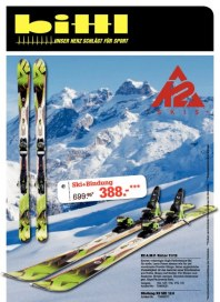 Sport Bittl Ski & Wintersport Flyer 2012 Dezember 2012 KW48