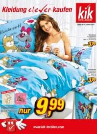 Kik Kleidung clever kaufen Januar 2013 KW02