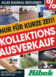 Teppich Kibek Kollektionsausverkauf Januar 2013 KW02