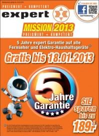 expert Mission 2013 Januar 2013 KW02