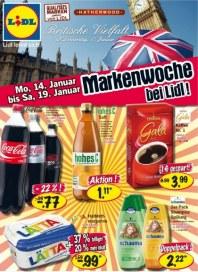 Lidl Aktueller Wochenflyer Lebensmittel Januar 2013 KW03 1