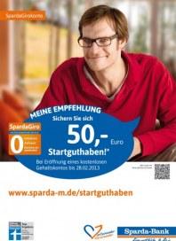 Sparda-Bank München eG Meine Empfehlung Januar 2013 KW03