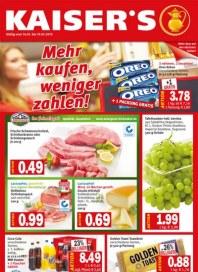 Kaiser's Mehr kaufen, weniger zahlen Januar 2013 KW03