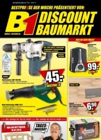 B1 Discount Baumarkt Aktuelle Angebote Januar 2013 KW02
