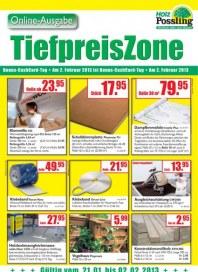 Holz Possling Tiefpreiszone Januar 2013 KW04