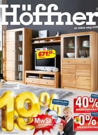Höffner MwSt. geschenkt Januar 2013 KW03