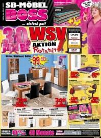 MÖBEL BOSS Aktion Rotstift geht weiter Januar 2013 KW03