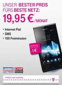 Telekom Shop Unser bester Preis fürs beste Netz Januar 2013 KW03
