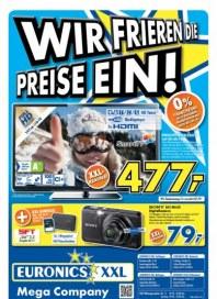 Euronics Wir frieren die Preise ein Januar 2013 KW04