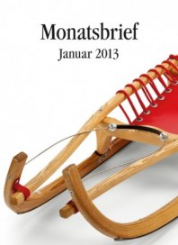 Manufactum Monatsbrief Januar 2013 KW01