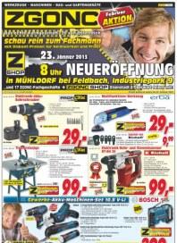 ZGONC Handel GmbH ZGONC Angebote bis 23.02.2013 Januar 2013 KW04