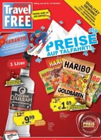 Global Travel Free Shop Preise auf Talfahrt Januar 2013 KW04