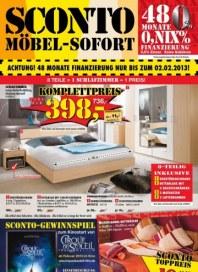 Sconto Winterschlussverkauf Januar 2013 KW04