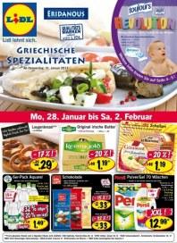 Lidl Griechische Spezialitäten Januar 2013 KW05