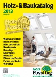 Holz Possling Holz- & Baukatalog Februar 2013 KW05