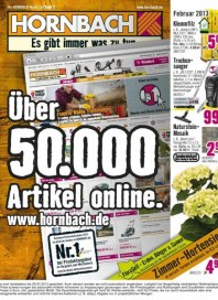 Hornbach Monatskatalog Januar 2013 KW05