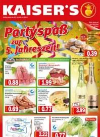 Kaiser's Partyspaß zur 5. Jahreszeit Februar 2013 KW05
