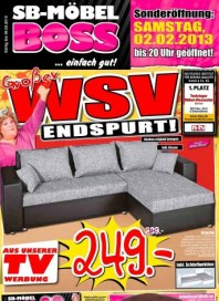 MÖBEL BOSS Großer WSV-Endspurt Januar 2013 KW05