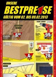 B1 Discount Baumarkt Aktuelle Angebote Februar 2013 KW05