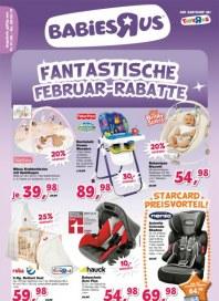 Toys'R'us Fantastische Februar-Rabatte Februar 2013 KW06