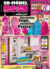 MÖBEL BOSS Verrückte Tage, verrückte Preise Februar 2013 KW06