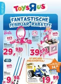 Toys'R'us Fantastische Februar Rabatte Februar 2013 KW06
