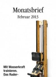 Manufactum Monatsbrief Februar 2013 KW05