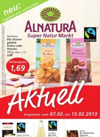 Alnatura Angebote Februar 2013 KW06