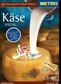 Metro Cash & Carry Käse Spezial Februar 2013 KW06