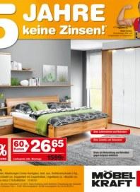 Möbel Kraft 5 Jahre keine Zinsen Februar 2013 KW07