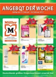 Müller Angebot der Woche Februar 2013 KW07