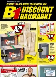 B1 Discount Baumarkt Aktuelle Angebote Februar 2013 KW06 1