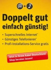 Kabel Deutschland Doppelt gut einfach günstig Februar 2013 KW07