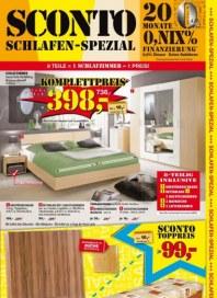Sconto Schlafen Spezial Februar 2013 KW08