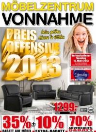 Möbelzentrum Vonnahme Preis Offensive 2013 Februar 2013 KW08
