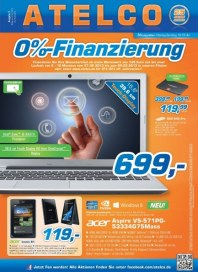 Atelco 0%-Finanzierung Februar 2013 KW09