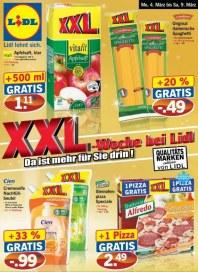 Lidl XXL-Woche März 2013 KW10