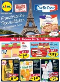 Lidl Französische Spezialitäten Februar 2013 KW09 1