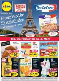 Lidl Französische Spezialitäten Februar 2013 KW09 2