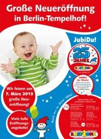 BabyOne Große Neueröffnung in Berlin-Tempelhof März 2013 KW09