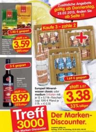 Edeka Treff 3000 - Aktuelle Angebote Februar 2013 KW09