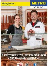 Metro Cash & Carry Metzgerei und Catering Spezial Februar 2013 KW06